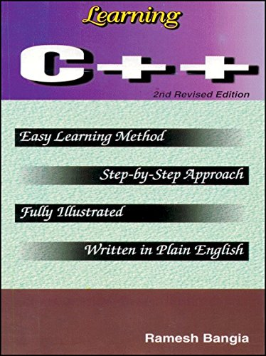 Learning C++: Ramesh Bangia
