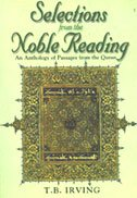 9788187570042: Selections From The Noble Reading: An Anthology Of Passages From the Quran