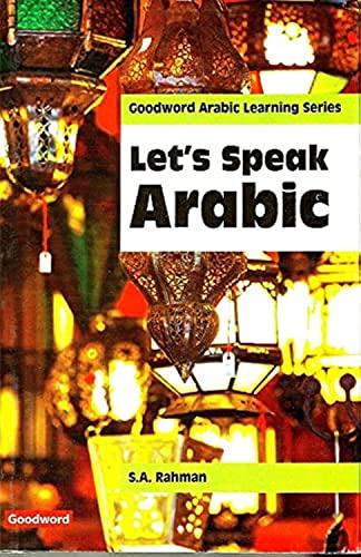 9788187570776: Let's Speak Arabic: Learn Arabic Conversation in Just One Week! (Arabic Edition)