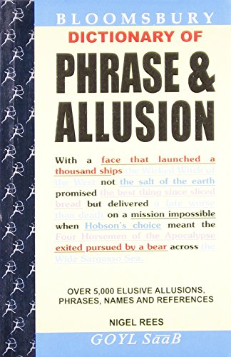 Dictionary of Phrase and Allusion: Nigel Rees