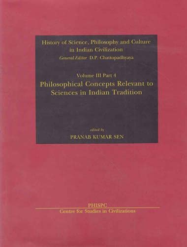 9788187586272: Philosophical Concepts Relevant to Sciences in Indian Tradition