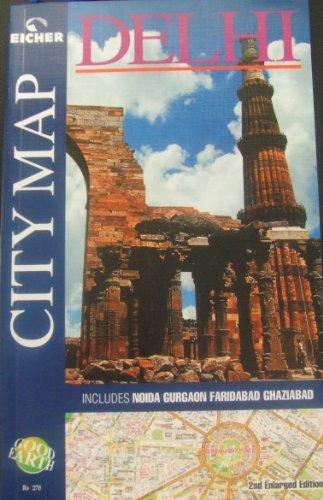9788187780625: Delhi City Map