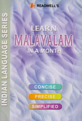 Learn Malayalam in a Month: Script &: Nair, M.