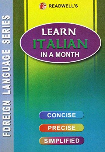 9788187782179: Learn Italian in a Month