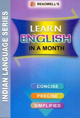 Learn English in a Month: Easy Method of Learning English Through Hindi Without a Teacher: Ishwar ...