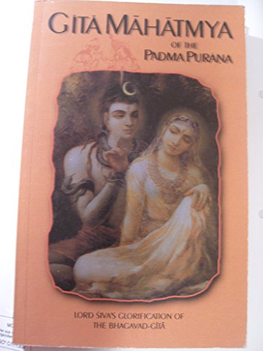 Gita-Mahatmya of the Padma Purana: Lord Siva`s