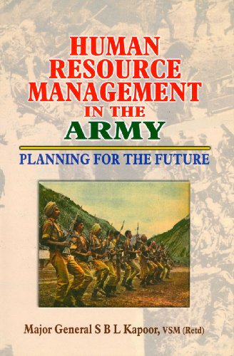 Human Resource Management in the Army: S.B.L. Kapoor