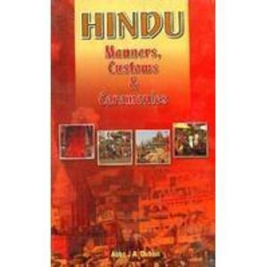 Hindu Manners, Customs and Ceremonies: Abbe J.A. Dubois