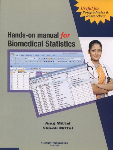 9788188132362: Hands on Manual for Biomedical Statistics