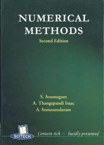 9788188429639: Numerical Methods