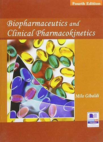 Biopharmaceutics And Clinical Pharmacokinetics: Gibaldi