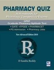9788188449989: Pharmacy Quiz - A Handbook for Pharmacy Competitive Exams