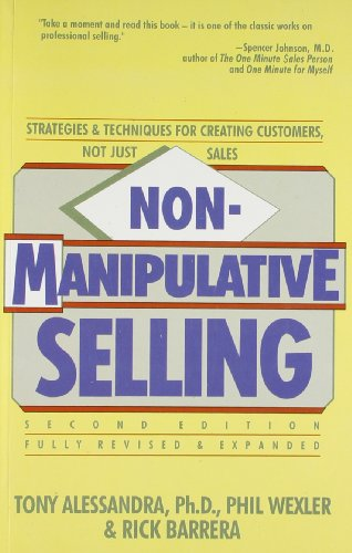9788188452736: Non-Manipulative Selling