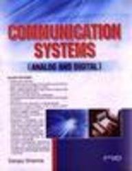 9788188458202: Communication Systems (Analog And Digital)