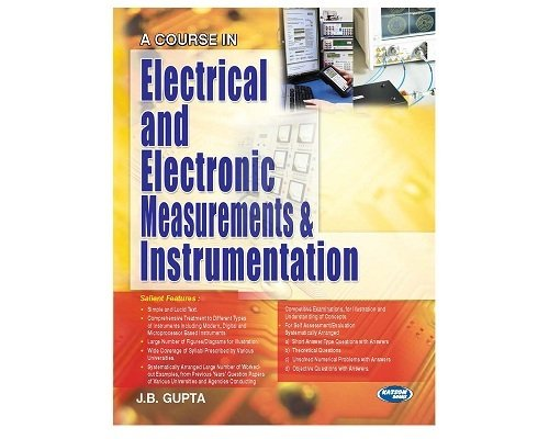 A Course in Electrical & Electronics Measurement: J.B.Gupta