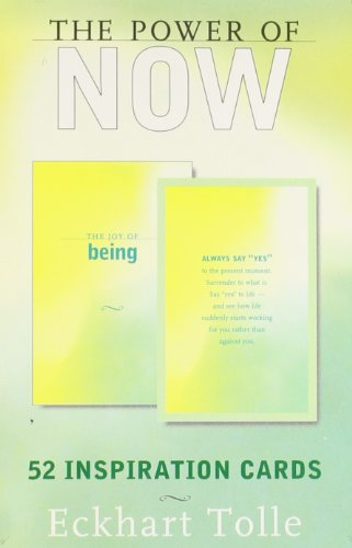 The Power of Now: 52 Inspiration Cards: Eckhart Tolle