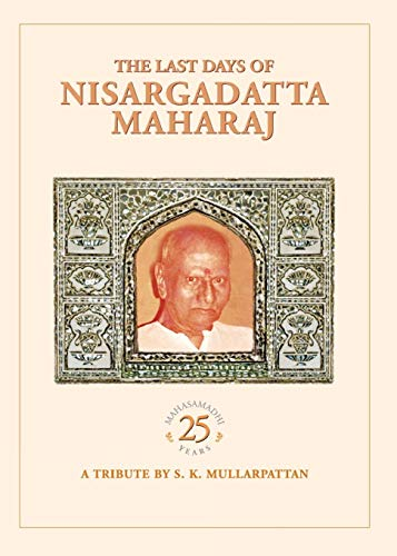 9788188479672: The Last Days Of Nisargadatta Maharaj