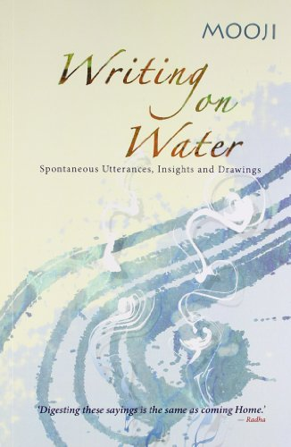 9788188479740: Writing On Water : Spontaneous Utterances, Insights And Drawings