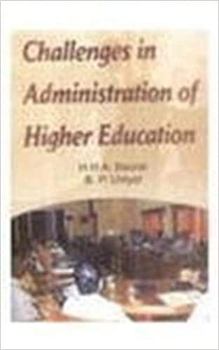 Challenges in Administration of Higher Education: Bourai, H. H. A, Uniyal, B.