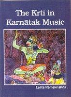 9788188827282: The krti in karnatak music