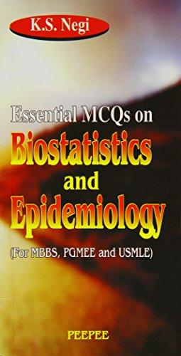 Ess.Mcqs on Biostatistics & Epidemiology, Vol. 1: K S Negi