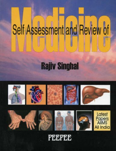 9788188867837: Self Assessment and Review of Medicine