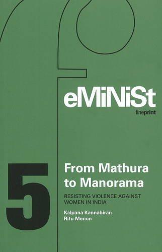 From Mathura to Manorama: Resisting Violence Against: Kalpana Kannabiran