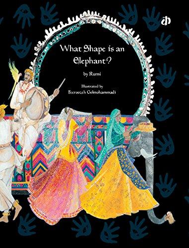 9788189020484: What Shape is an Elephant?