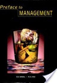 Preface to Management: Rao P.C.K. Kansal