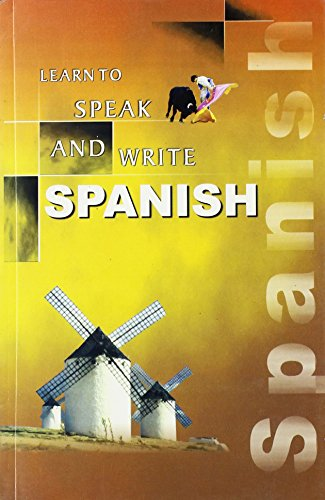 9788189093884: Learn to Speak and Write Spanish