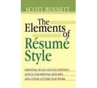 9788189107413: The Elements of Resume Style