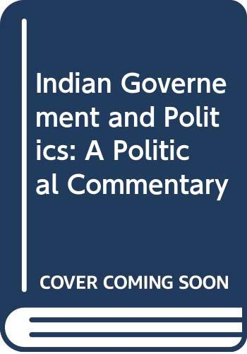 Prof. Chetakar Jha's Indian Governance and Politics: M. P. Singh