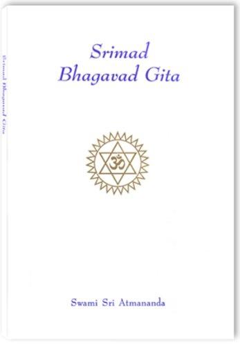 9788189173005: Srimad Bhagavad Gita: original Sanskrit with standard Roman transliteration and English translation