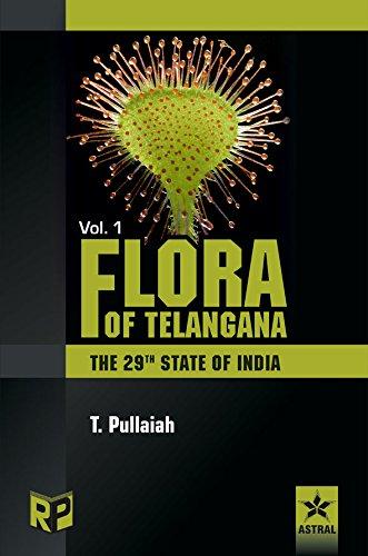 9788189233983: Flora of Telangana (Set of 3 Volumes)