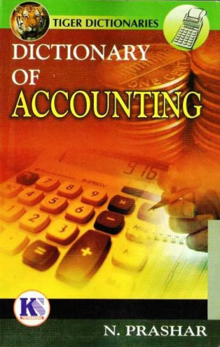 9788189261306: Dictionary of Accounting (Tiger)