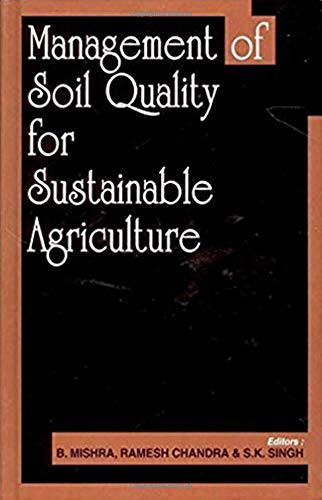 9788189304348: Management of Soil Quality for Sustainable Agriculture