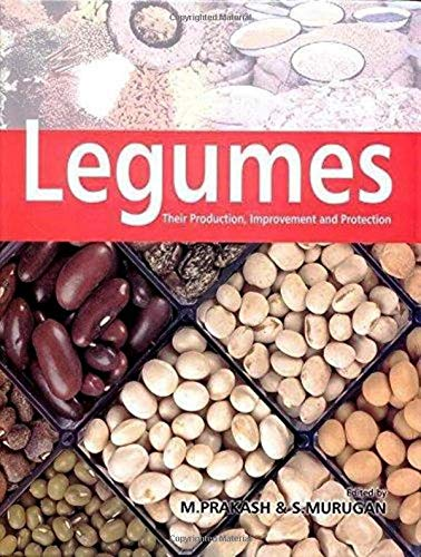 Legumes : Their Production Improvement and Protection: M Prakash and S Murugan