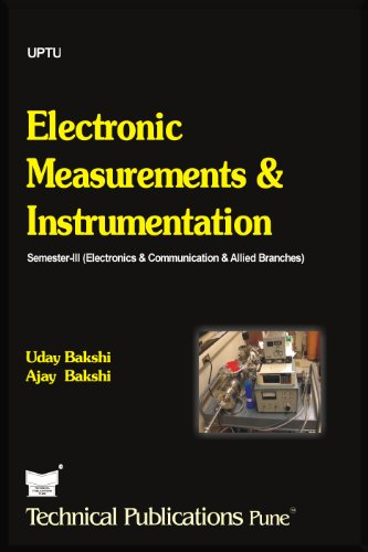 Measurement And Instrumentation By Bakshi Pdf