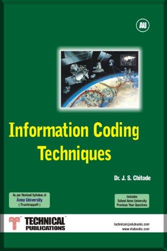 9788189411695: Information Coding Techniques