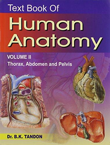 Text Book of Human Anatomy Volume 2: Dr.B.K.Tandon
