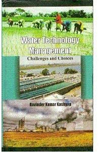 9788189473679: Water Technology Management: Challenges and Choices