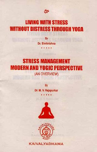 9788189485153: Living With Stress Without Distress Through Yoga