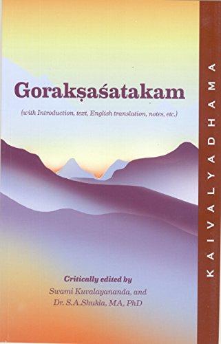 Gorakshashatakama: Swami Kuvalayananda, Sr.
