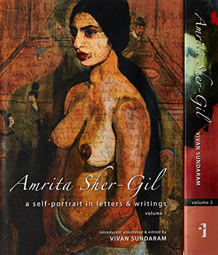 9788189487591: Amrita Sher-Gil - A Self-Portrait in Letters and Writings [two-volume cased set]: 1-2