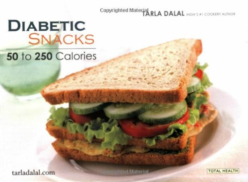 Diabetic Snacks (Total Health Series): Dalal, Tarla