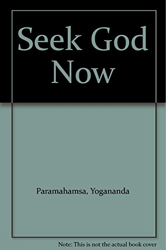 9788189535346: Seek God Now
