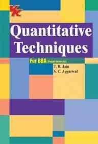9788189611712: Quantitive Techniques: for BBA