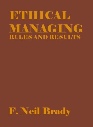 9788189617066: Ethical Managing : Rules and Results