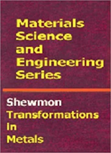 Transformations in Metals: Paul G. Shewmon