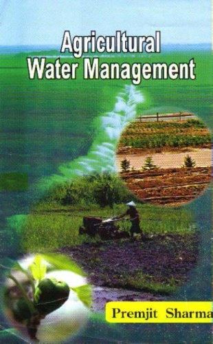 Agricultural Water Management: Premjit Sharma